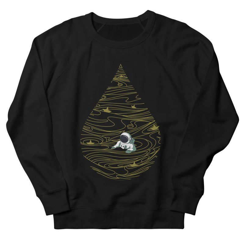 A drop in a sea of stars Men's French Terry Sweatshirt by Sebasebi