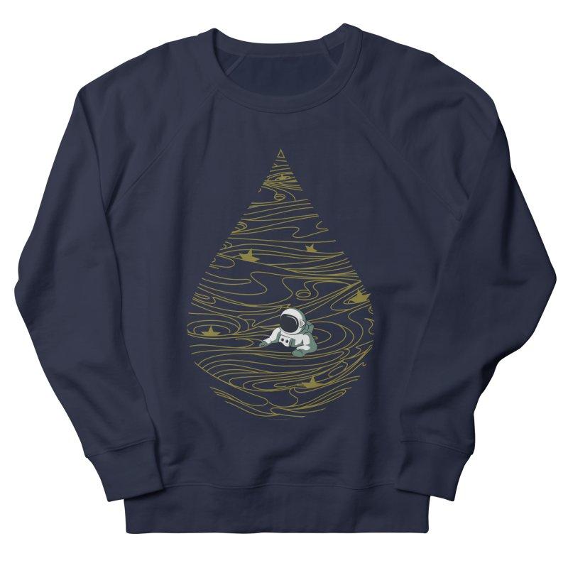 A drop in a sea of stars Men's French Terry Sweatshirt by Sebasebi