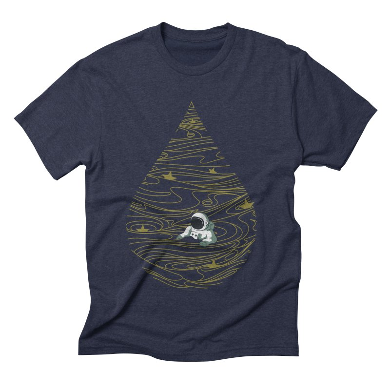 A drop in a sea of stars Men's Triblend T-Shirt by Sebasebi
