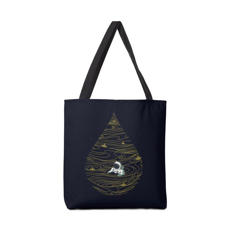 A drop in a sea of stars Accessories Bag by Sebasebi