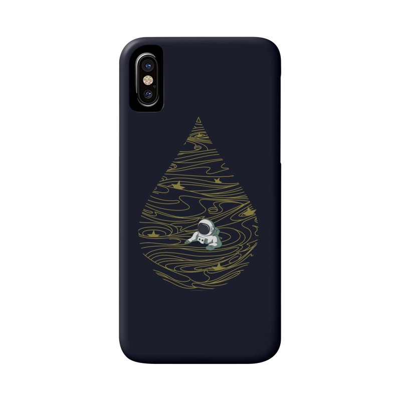 A drop in a sea of stars Accessories Phone Case by Sebasebi