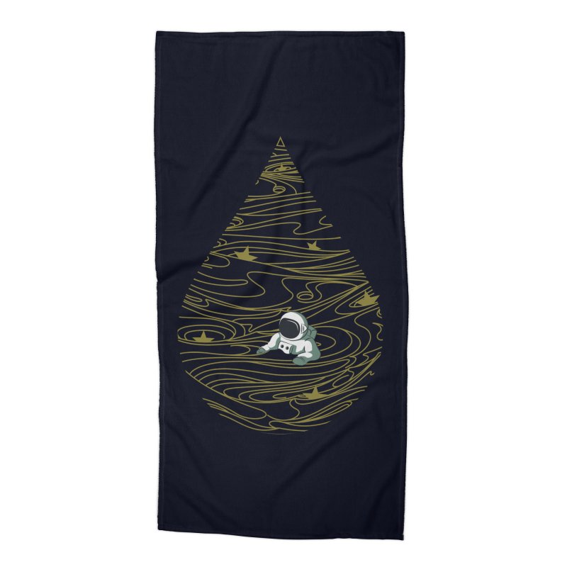 A drop in a sea of stars Accessories Beach Towel by Sebasebi