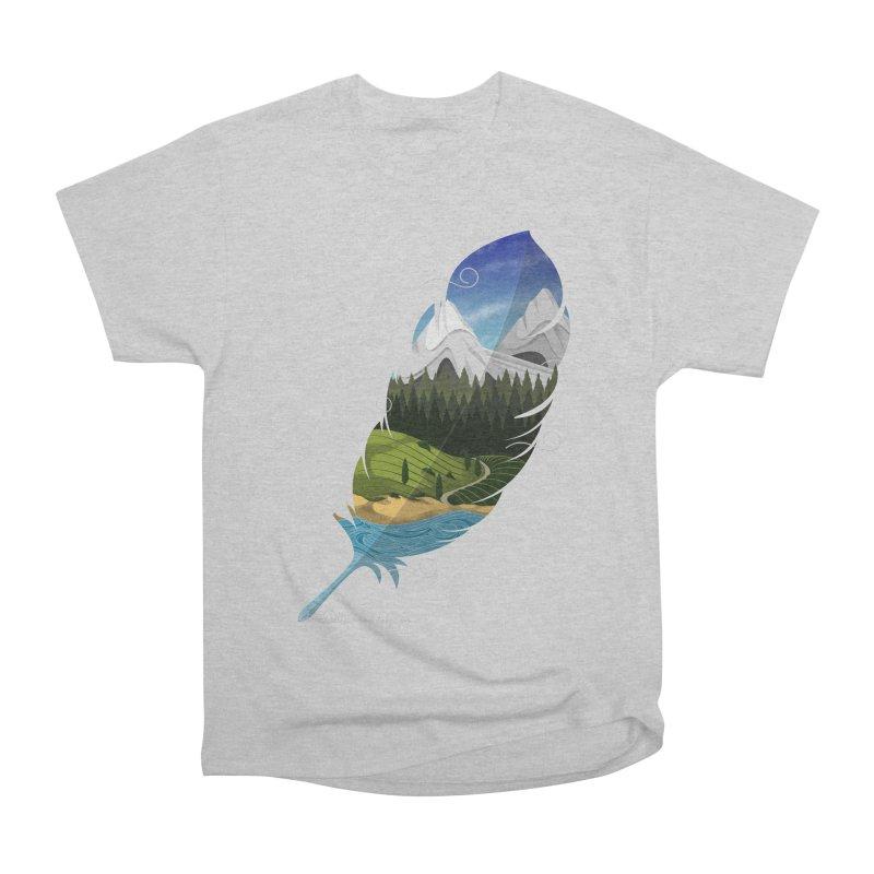 Wherever the wind take me final Men's Heavyweight T-Shirt by Sebasebi