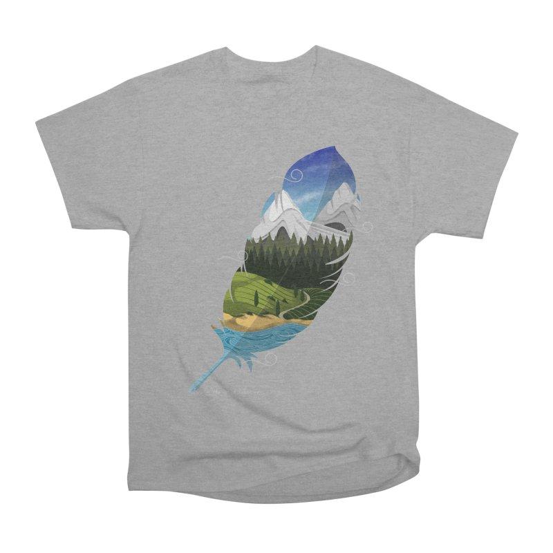 Wherever the wind take me Women's Heavyweight Unisex T-Shirt by Sebasebi