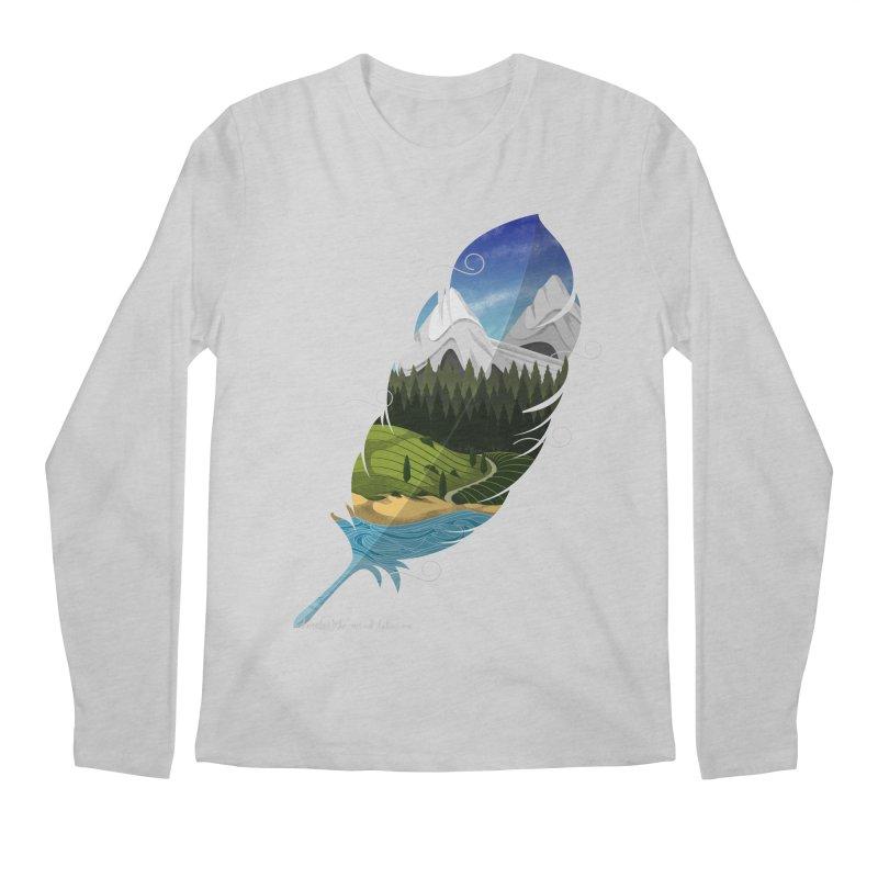 Wherever the wind take me final Men's Regular Longsleeve T-Shirt by Sebasebi