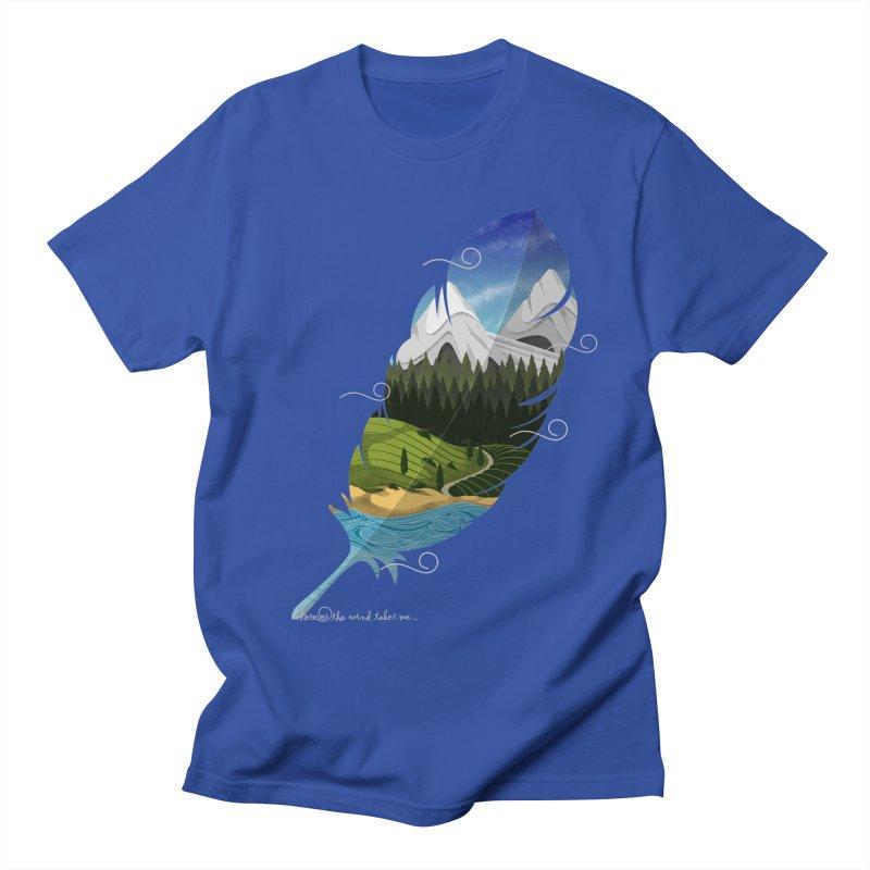 Wherever the wind take me final Women's Regular Unisex T-Shirt by Sebasebi