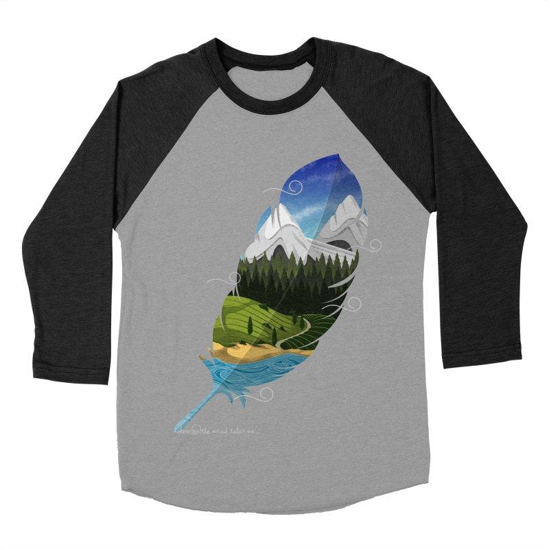Wherever the wind take me final Women's Baseball Triblend Longsleeve T-Shirt by Sebasebi