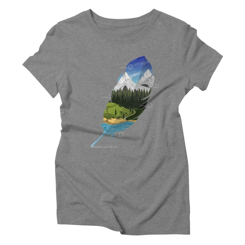 Wherever the wind take me final Women's Triblend T-Shirt by Sebasebi