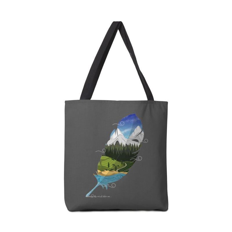 Wherever the wind take me Accessories Bag by Sebasebi