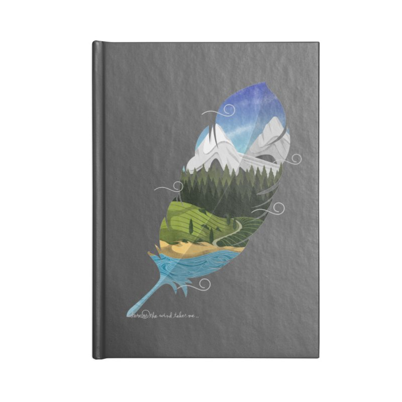 Wherever the wind take me final Accessories Notebook by Sebasebi