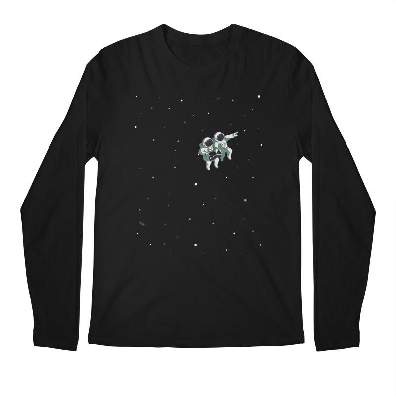 Space lost Men's Regular Longsleeve T-Shirt by Sebasebi