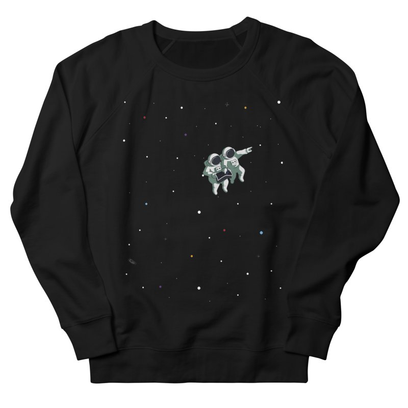 Space lost Men's French Terry Sweatshirt by Sebasebi