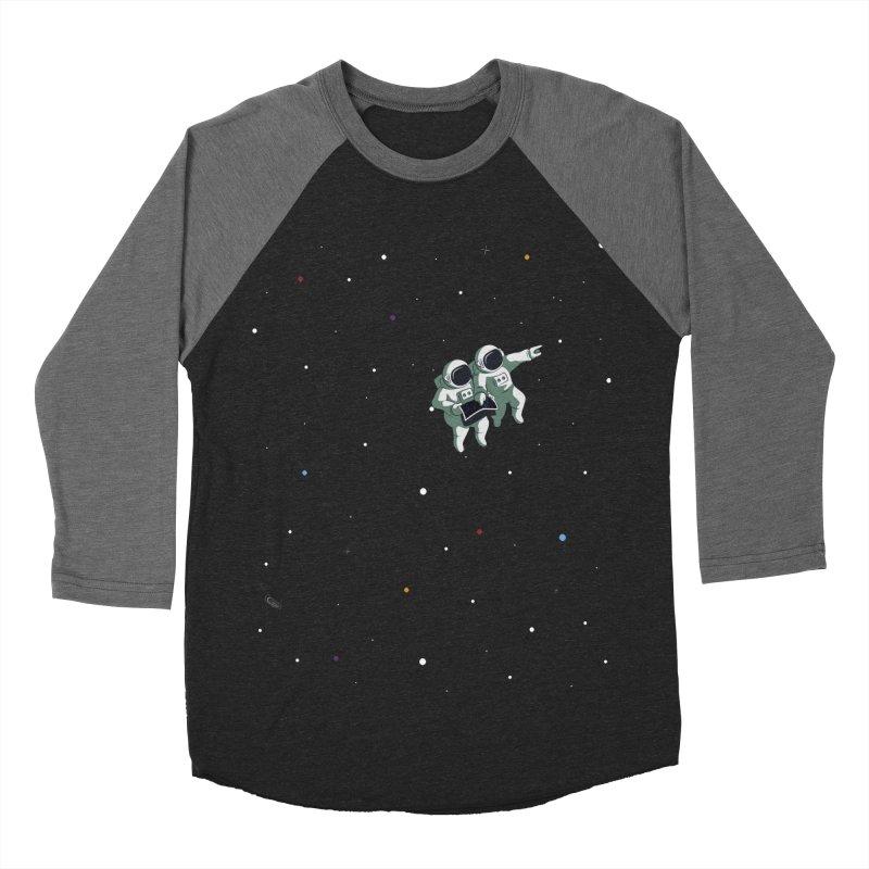 Space lost Women's Baseball Triblend Longsleeve T-Shirt by Sebasebi