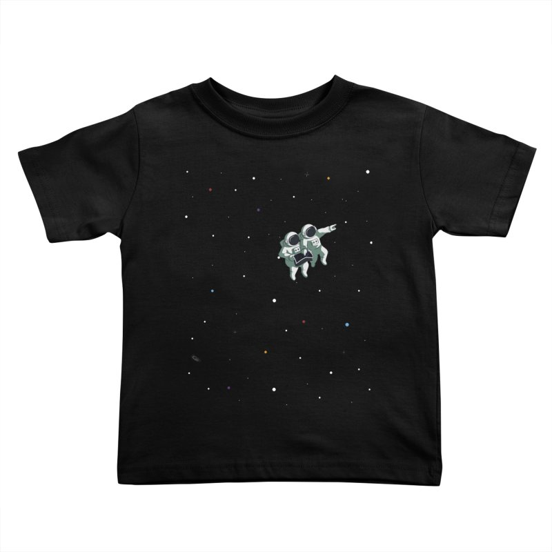 Space lost Kids Toddler T-Shirt by Sebasebi