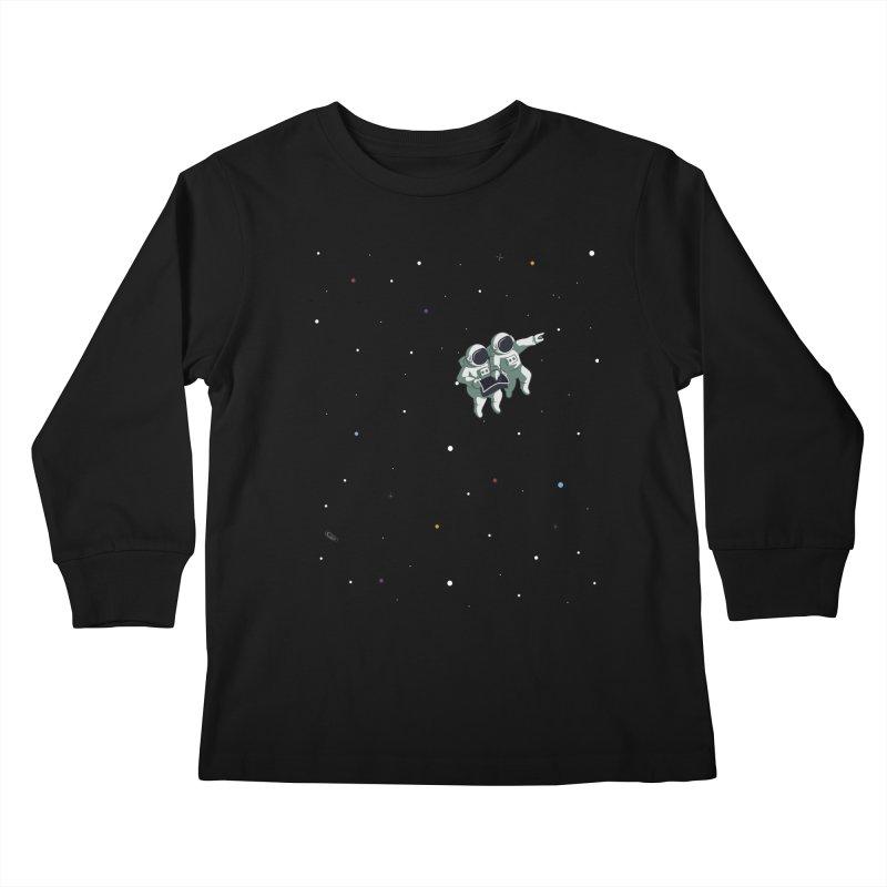 Space lost Kids Longsleeve T-Shirt by Sebasebi