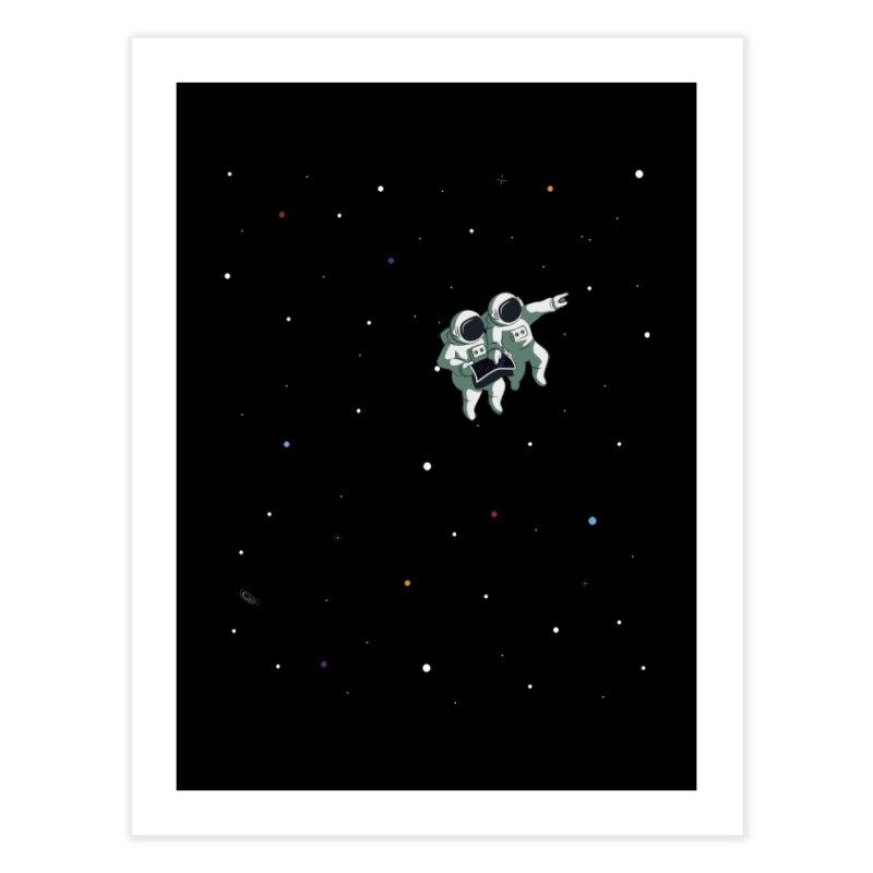 Space lost Home Fine Art Print by Sebasebi