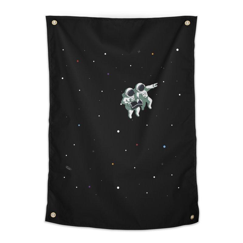 Space lost Home Tapestry by Sebasebi