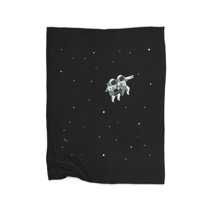 Space lost Home Blanket by Sebasebi