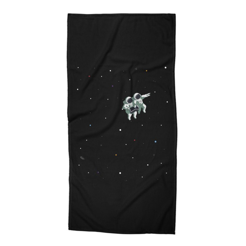 Space lost Accessories Beach Towel by Sebasebi