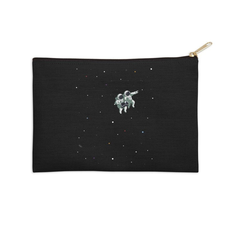 Space lost Accessories Zip Pouch by Sebasebi