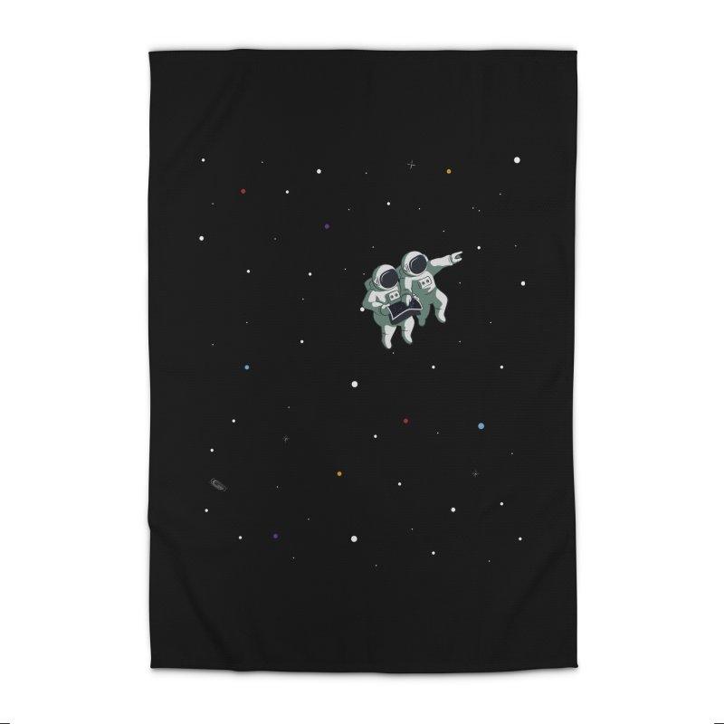 Space lost Home Rug by Sebasebi