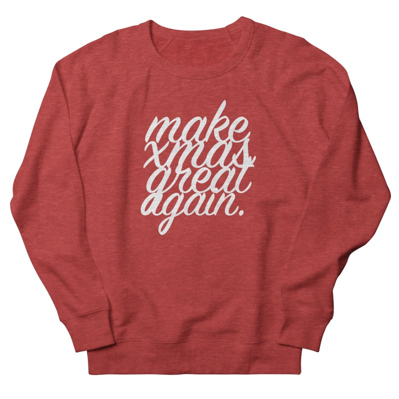 MXGA 2 Women's French Terry Sweatshirt by sebastian's Artist Shop