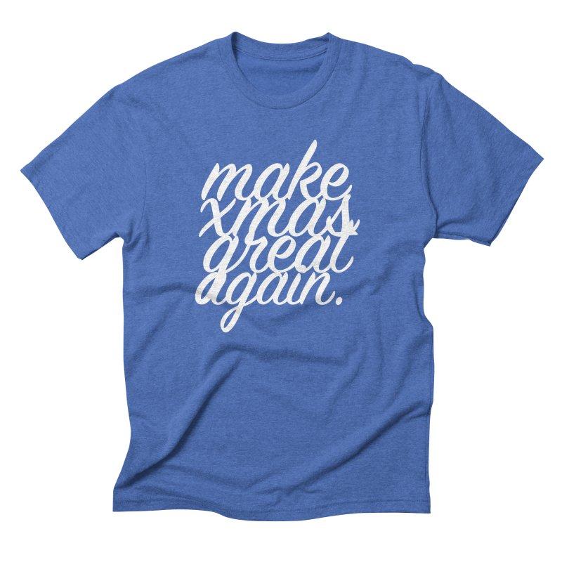 MXGA 2 Men's Triblend T-Shirt by sebastian's Artist Shop