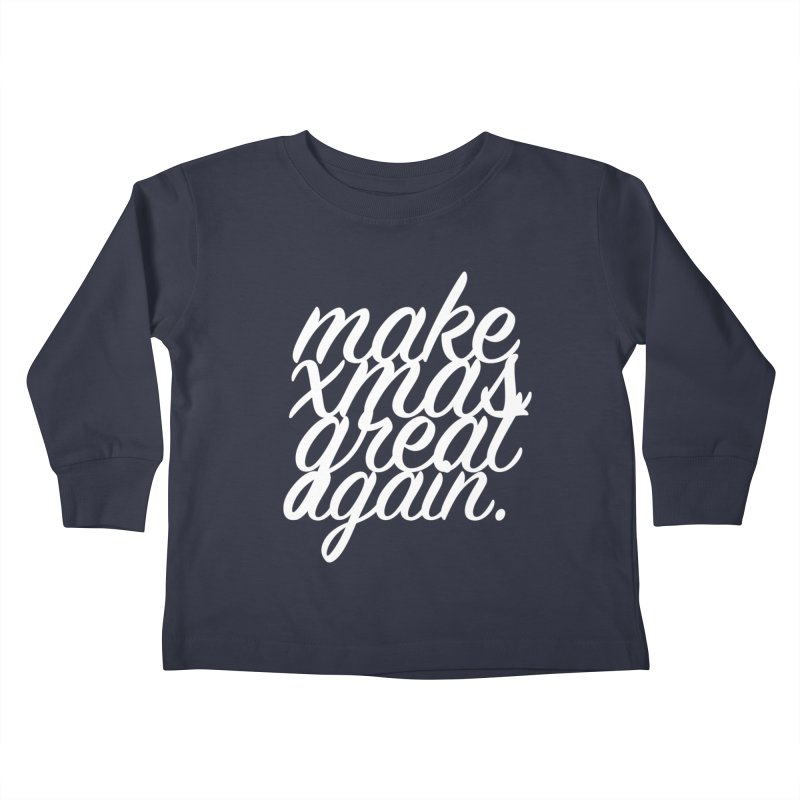 MXGA 2 Kids Toddler Longsleeve T-Shirt by sebastian's Artist Shop