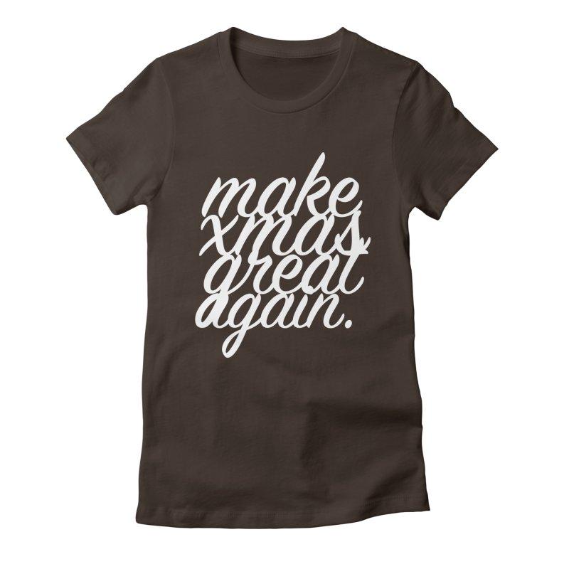 MXGA 2 Women's Fitted T-Shirt by sebastian's Artist Shop