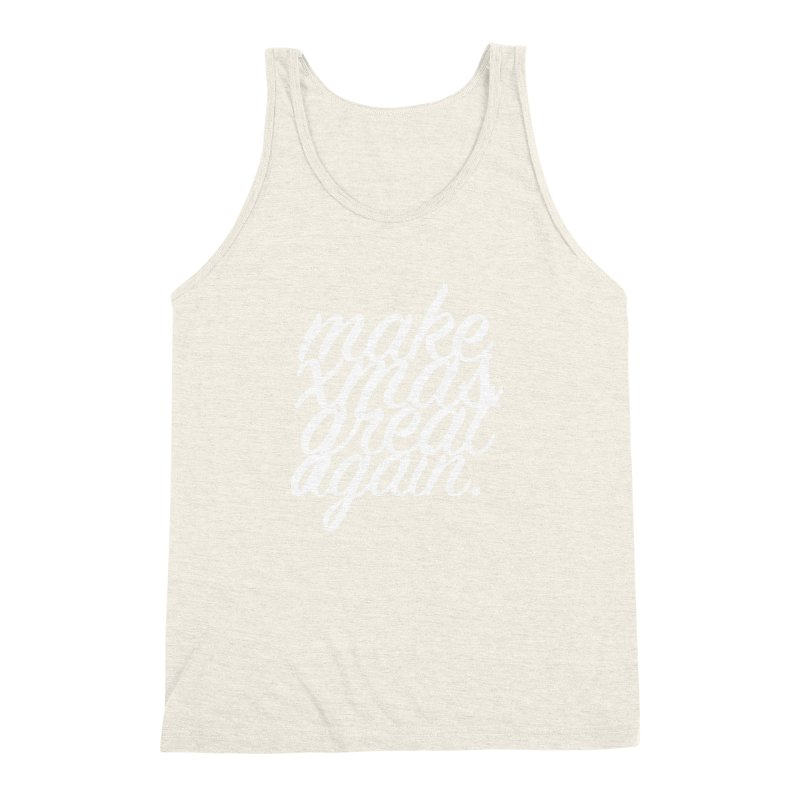 MXGA 2 Men's Triblend Tank by sebastian's Artist Shop