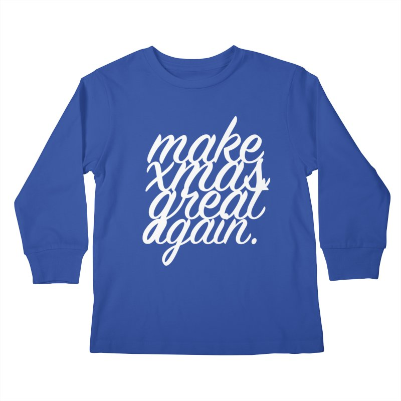 MXGA 2 Kids Longsleeve T-Shirt by sebastian's Artist Shop