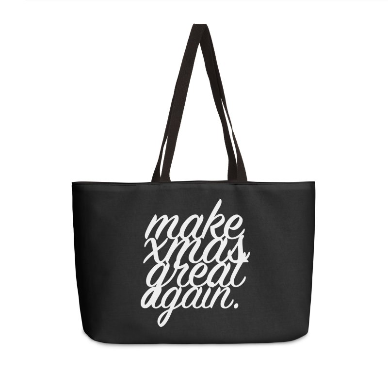 MXGA 2 Accessories Weekender Bag Bag by sebastian's Artist Shop