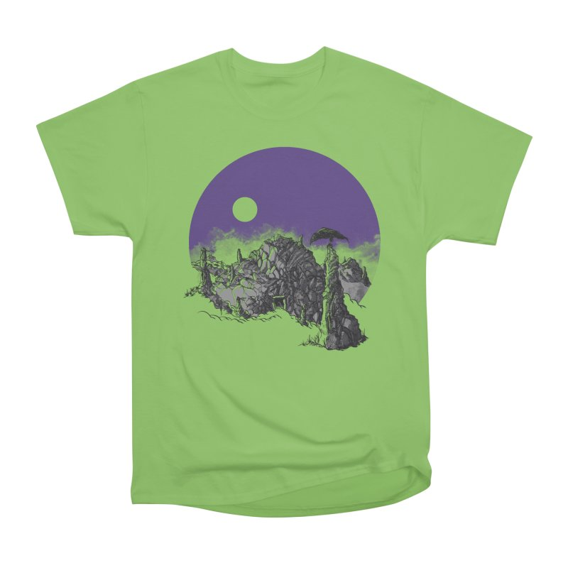 Cursed Grounds Men's Heavyweight T-Shirt by Sebastian Illustation's Chop Shop