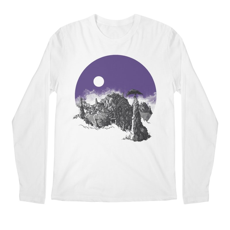 Cursed Grounds Men's Longsleeve T-Shirt by Sebastian Illustation's Chop Shop