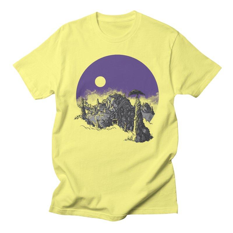 Cursed Grounds Men's Regular T-Shirt by Sebastian Illustation's Chop Shop