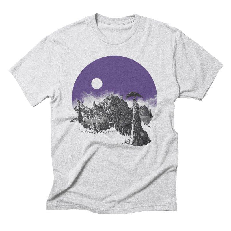 Cursed Grounds Men's Triblend T-Shirt by Sebastian Illustation's Chop Shop