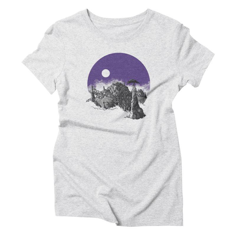 Cursed Grounds Women's T-Shirt by Sebastian Illustation's Chop Shop