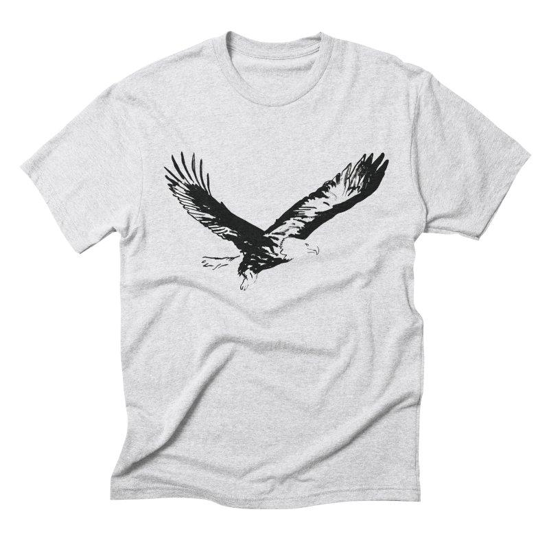 eagle Men's Triblend T-Shirt by sebastiansrd's Artist Shop