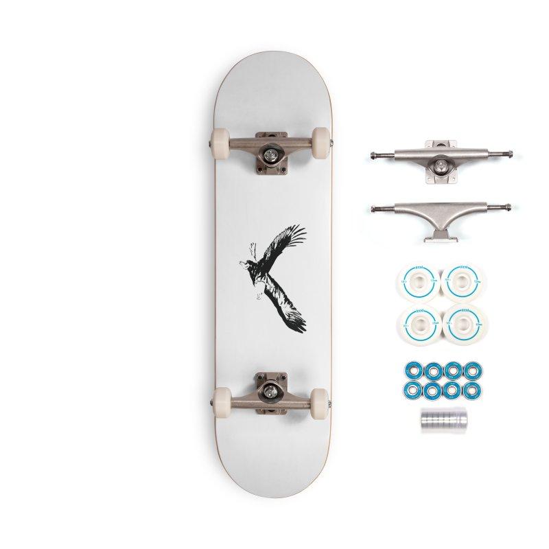 eagle Accessories Complete - Basic Skateboard by sebastiansrd's Artist Shop
