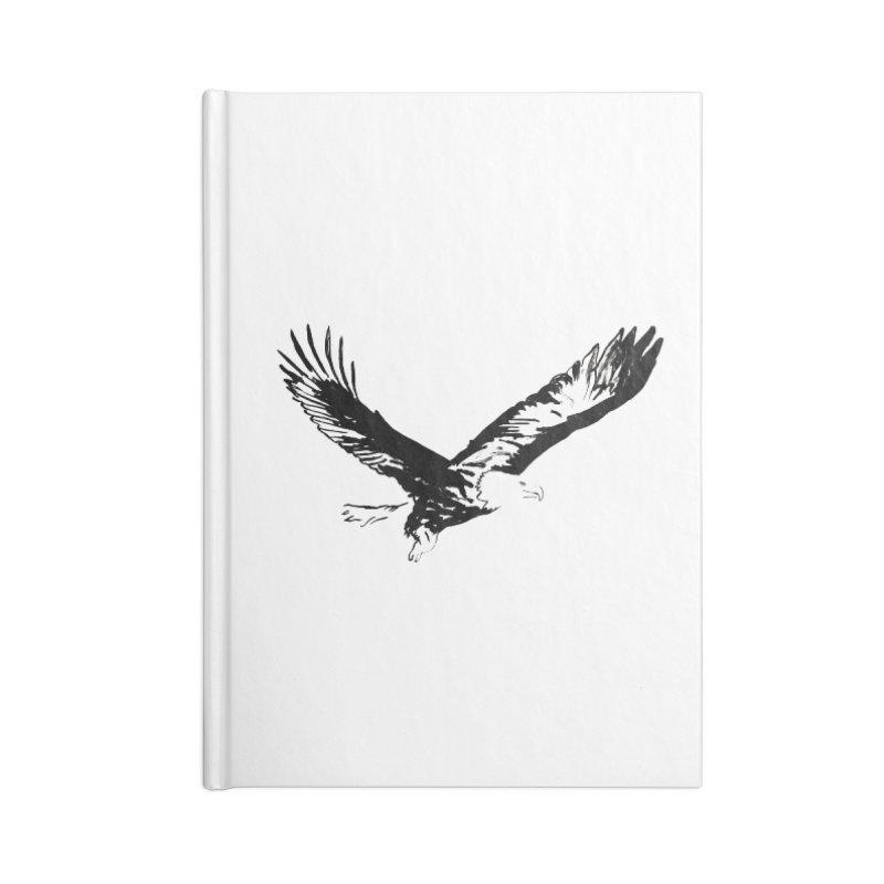 eagle Accessories Notebook by sebastiansrd's Artist Shop