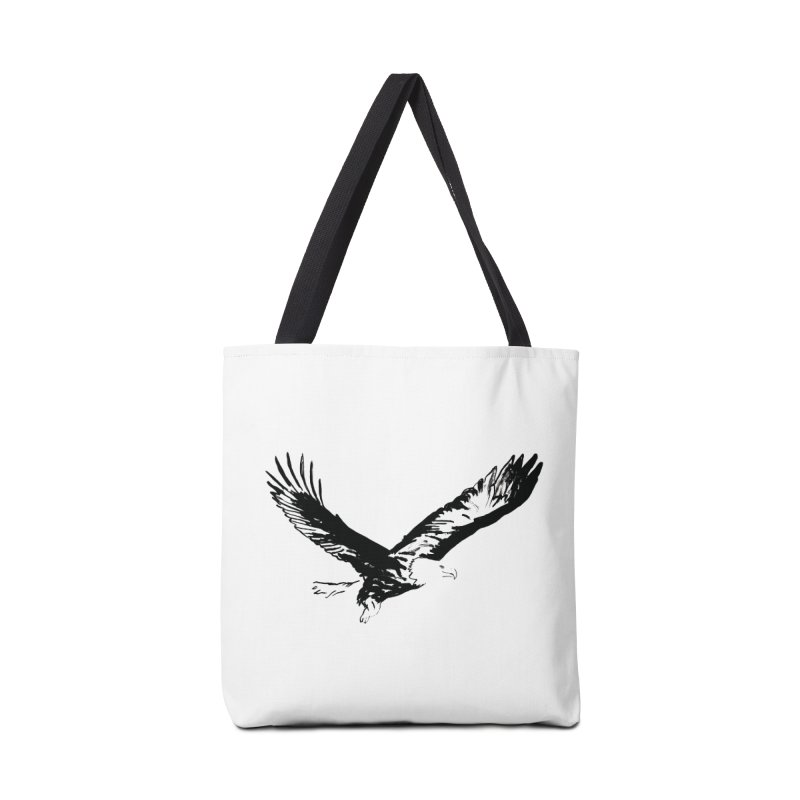 eagle Accessories Tote Bag Bag by sebastiansrd's Artist Shop