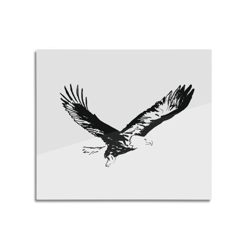 eagle Home Mounted Acrylic Print by sebastiansrd's Artist Shop