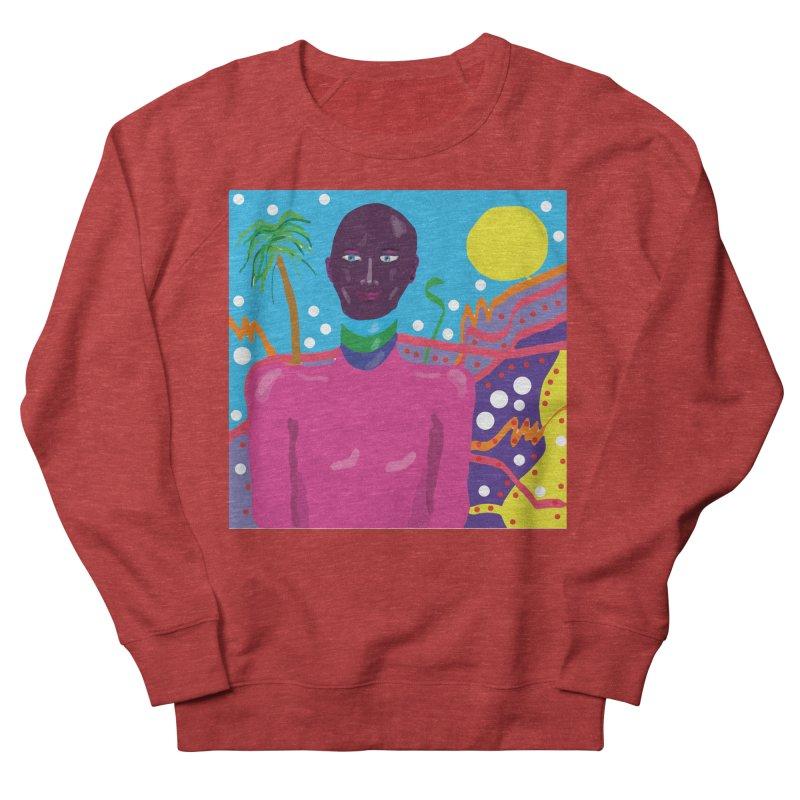 Fantasy portrait Women's French Terry Sweatshirt by sebastiansrd's Artist Shop