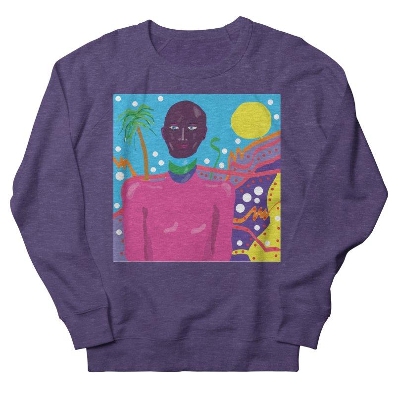 Fantasy portrait Men's French Terry Sweatshirt by sebastiansrd's Artist Shop