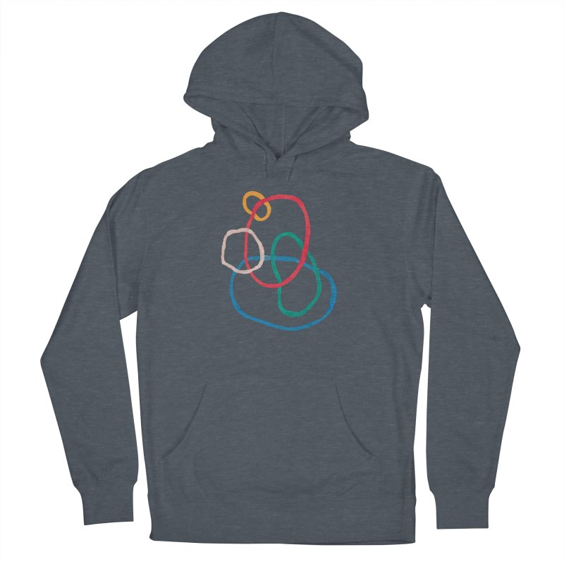 abstract 1 Women's French Terry Pullover Hoody by sebastiansrd's Artist Shop
