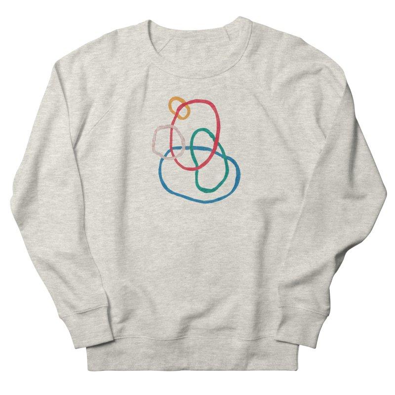 abstract 1 Men's French Terry Sweatshirt by sebastiansrd's Artist Shop