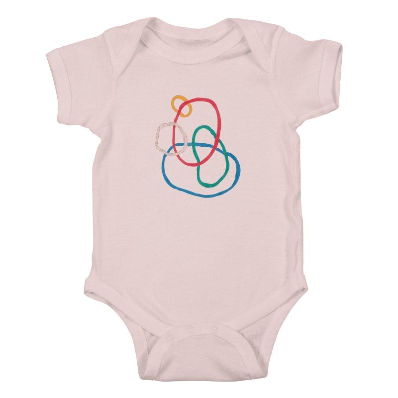abstract 1 Kids Baby Bodysuit by sebastiansrd's Artist Shop