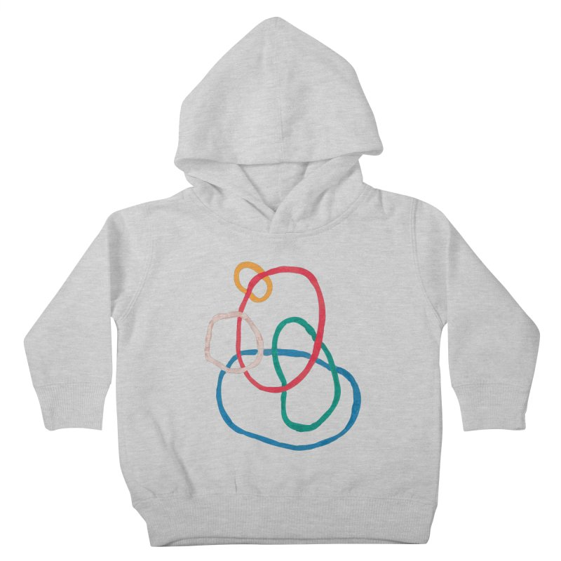 abstract 1 Kids Toddler Pullover Hoody by sebastiansrd's Artist Shop