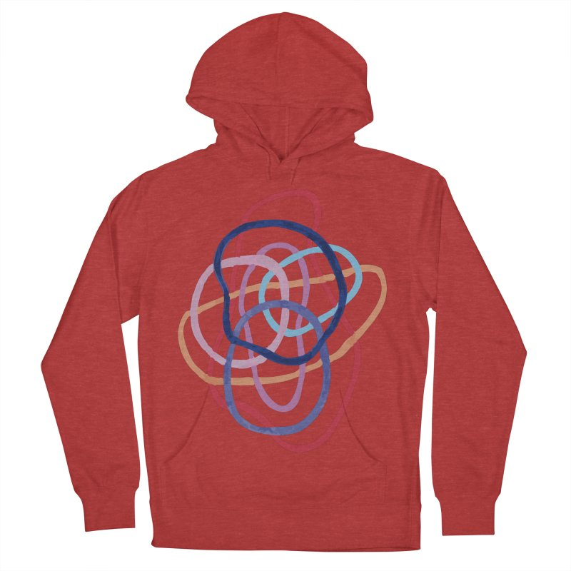 abstract 2 Women's French Terry Pullover Hoody by sebastiansrd's Artist Shop