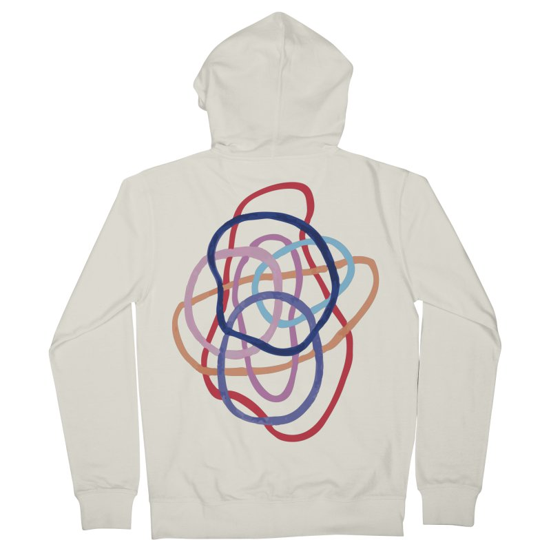 abstract 2 Women's French Terry Zip-Up Hoody by sebastiansrd's Artist Shop